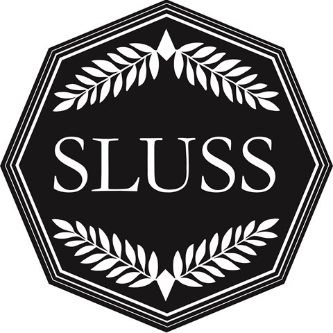 SLUSS logo, illustration.